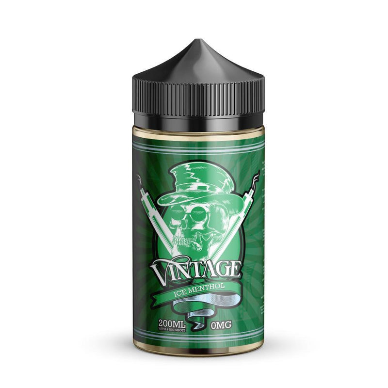 Vintage 200ml e liquid Ice Methol