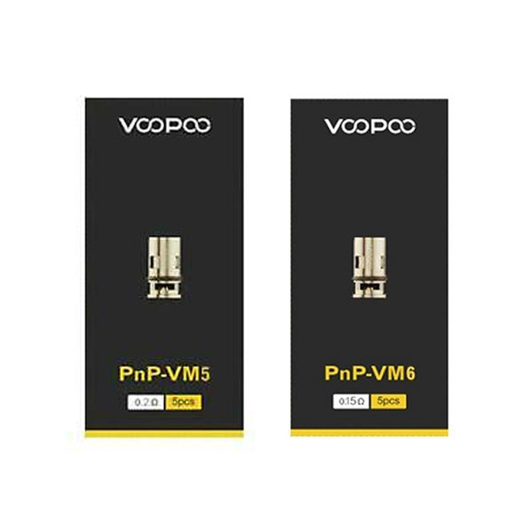 VooPoo PnP-VM5 0.20Ω Or PnP-VM6 Mesh 0.15Ω Replacement Coils