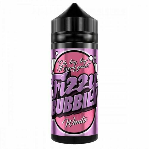 Fizzy Bubbly 120ml UK made E liquid Shortfill VG/PG 75/25 with free Nic shots