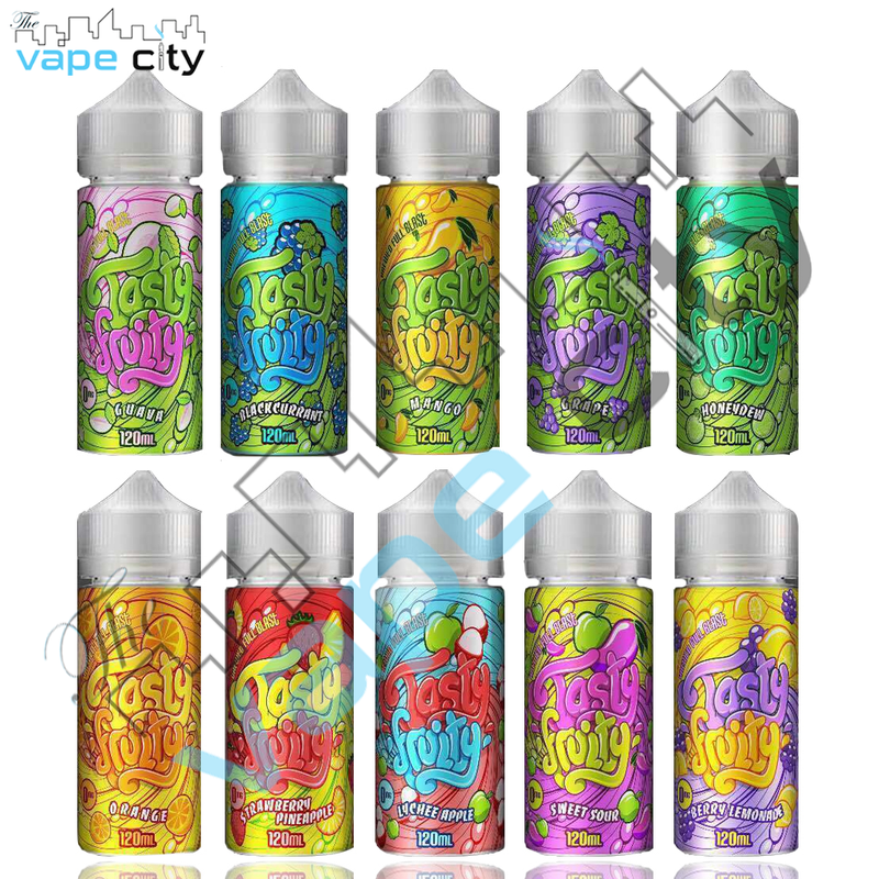 Tasty Fruity Ice Series Malaysian 120ml E liquid Vape juice with free Nic shots
