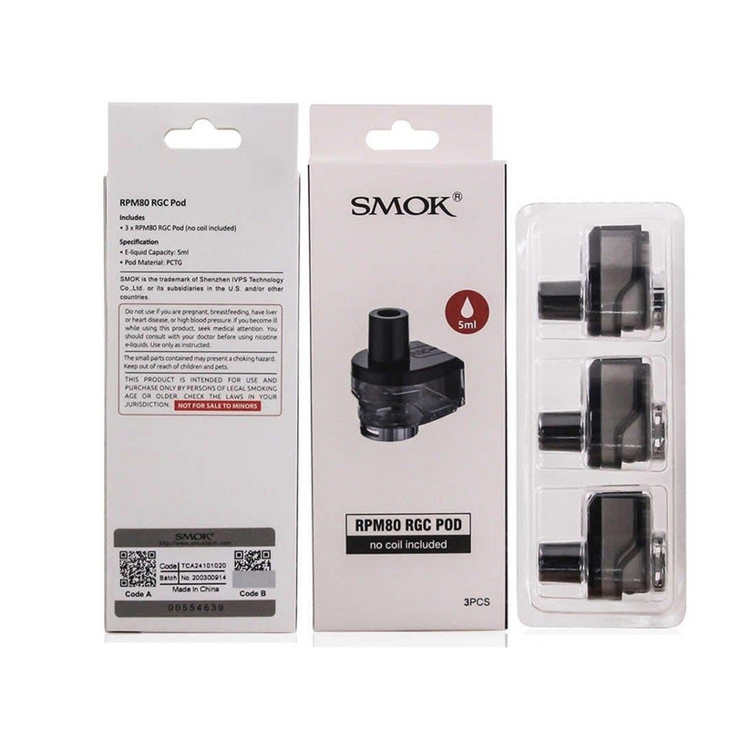 Smok RPM80 RGC Replacement Pods