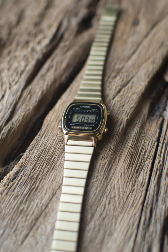 Casio Mini Digital Watch in Black