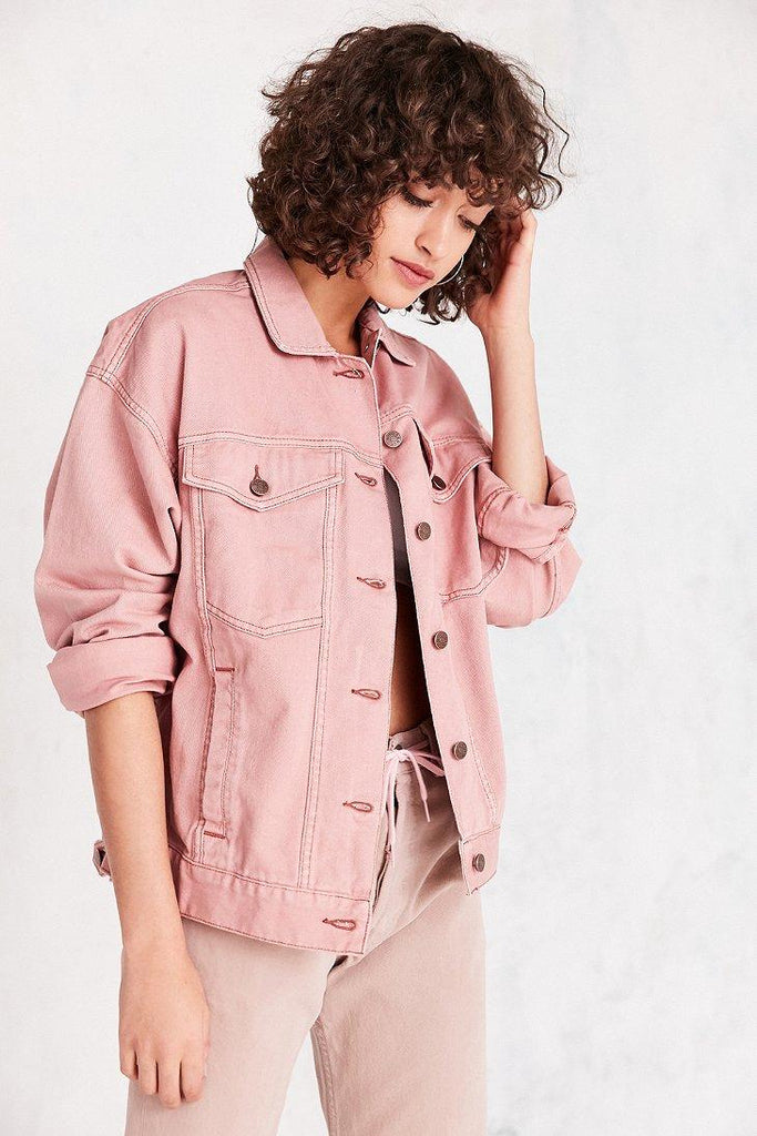 Urban Outfitters Bdg '80s Denim Trucker Jacket