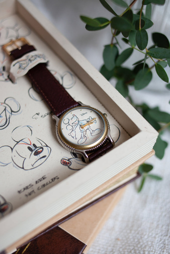 Premium Vintage: Sketchbook Mickey