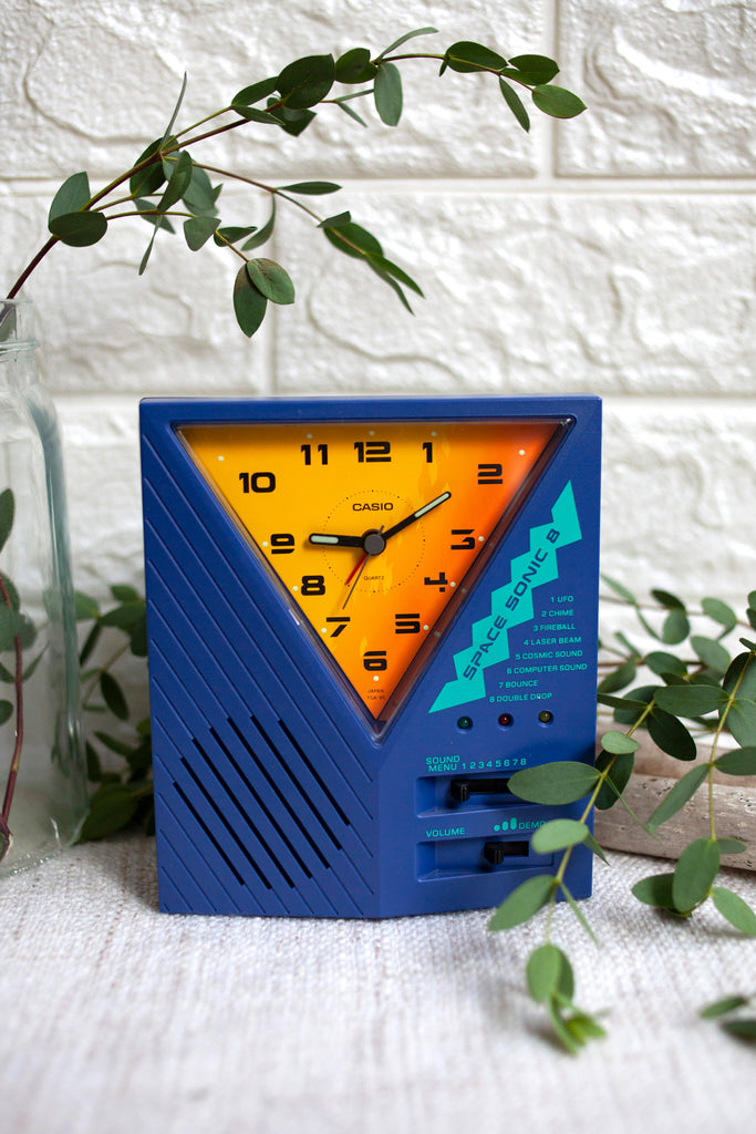 True Vintage: Retro Casio Space Sonic 8 Alarm Clock