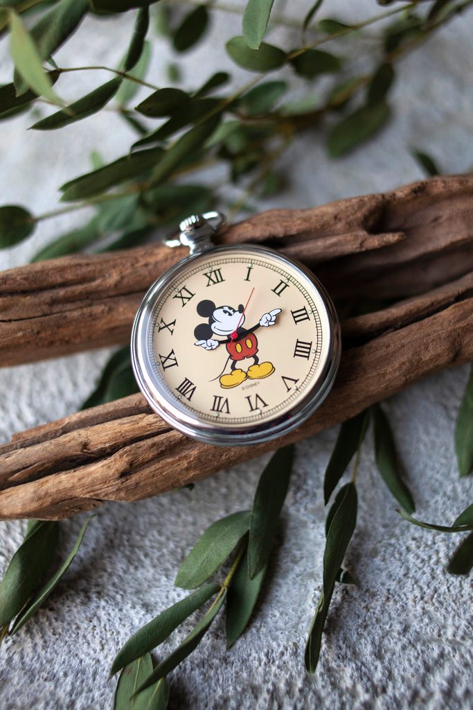 Premium Vintage: Classic Mickey Pocket Watch