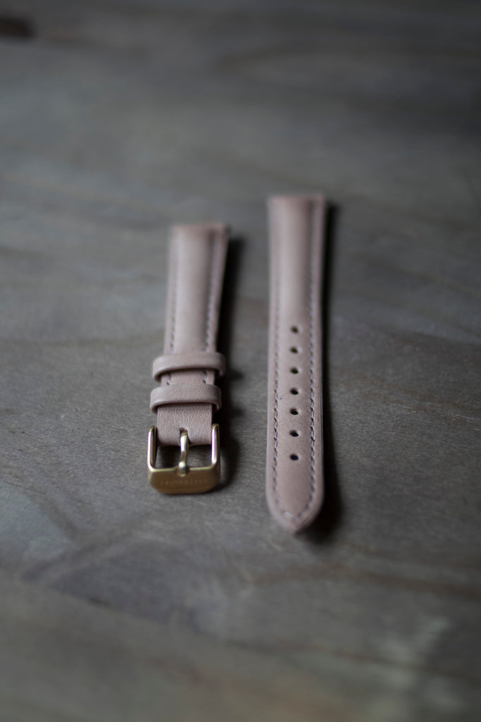 Blush Pink Leather Strap (16mm/Midi)