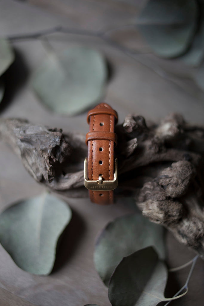 Brown Leather Strap (16mm/Midi)
