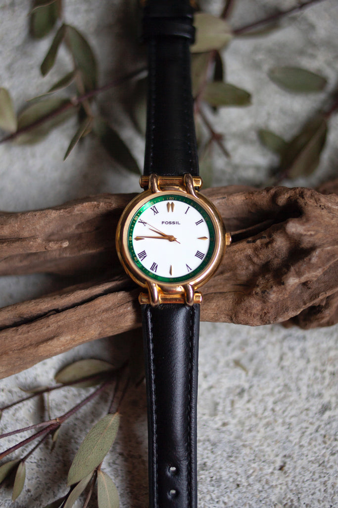 True Vintage: Fossil Emerald