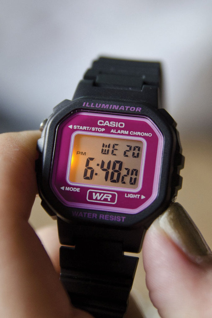 Casio Illuminator in Pink