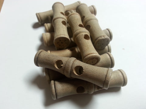 "Wooden Beautiful ""Bamboo"" Togggle # 3048  2 3/8""  Price is for 12 Pieces"
