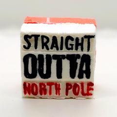Straight Outta North Pole Bath Bomb