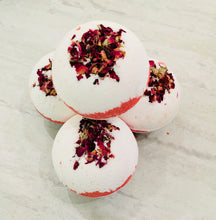 Load image into Gallery viewer, Enchanted Rose bath bomb