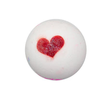 Load image into Gallery viewer, Love is in the air bath bomb
