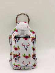 Hand Sanitizer Holder Key Chain