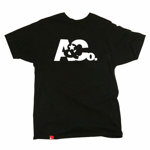 A&Co. Logo T-Shirt(Black)