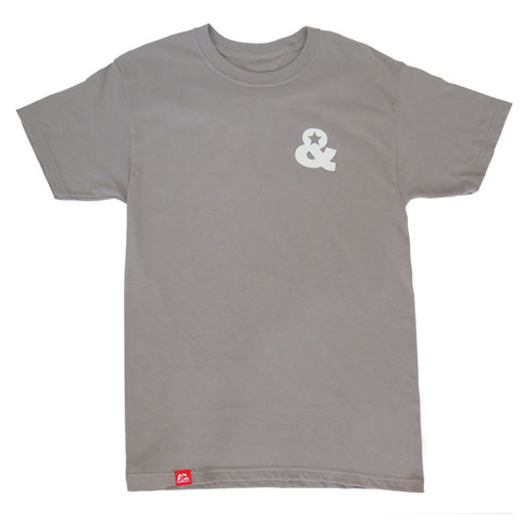 Ampersand Logo T-Shirt(Grey)