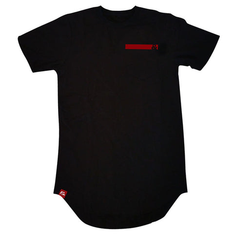 Ampersand Long Pocket T-Shirt(Black)