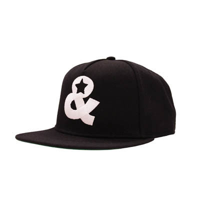Ampersand Snapback(Black) - SOLD OUT