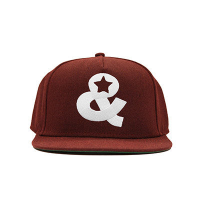 Ampersand Icon Snapback(Burgundy) - SOLD OUT