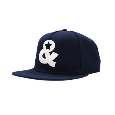 Ampersand Icon Snapback(Navy) - SOLD OUT