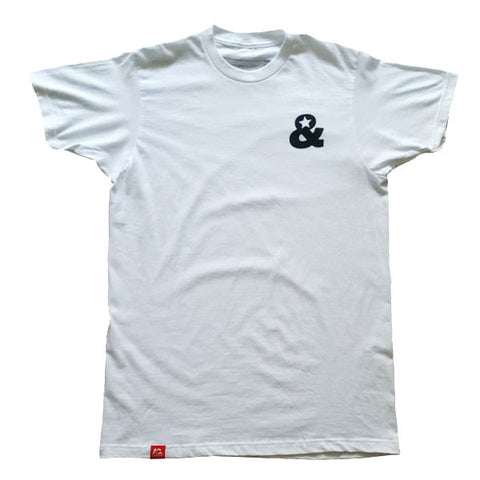 Ampersand Logo T-Shirt(White)