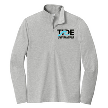 Load image into Gallery viewer, Men's Tri-Blend Wicking 1/4-Zip Pullover