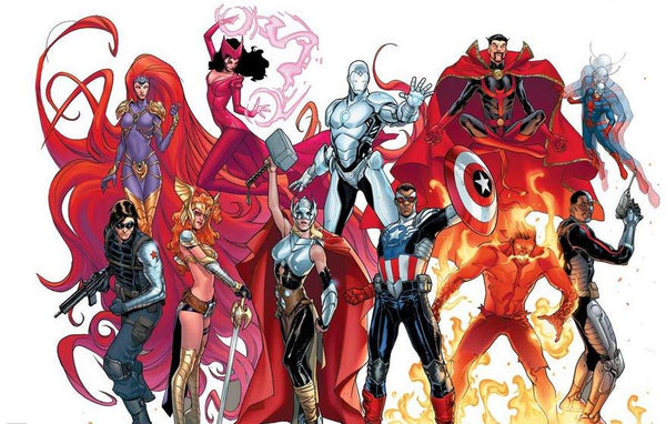 Marvel's 'Avengers NOW!': Thor is female, Cap's black and Iron Man has a new suit!