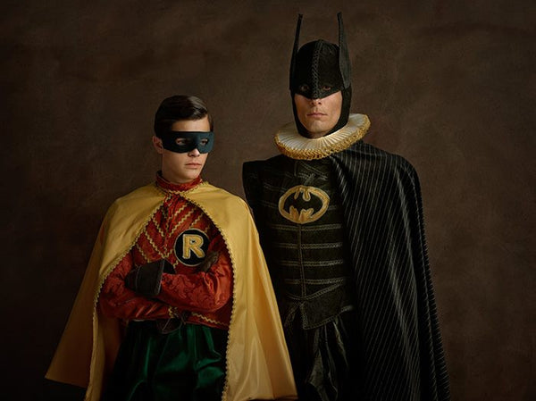 This Photographer thinks Batman, Robin, Hulk and so on look better as Sixteenth Century superheroes.