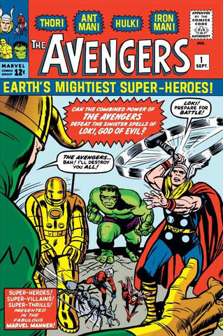 Avengers Made First Comic Book Debut 52 Years Ago