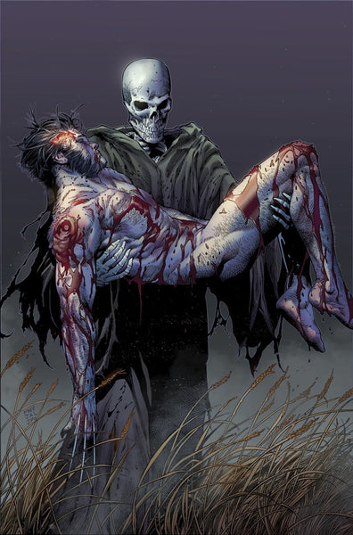 News: The Death of Wolverine Art Preview