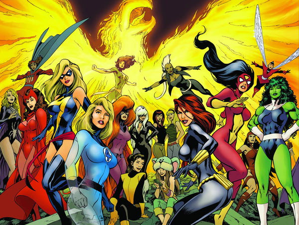Marvel wants a Female Superhero Movie like Today!
