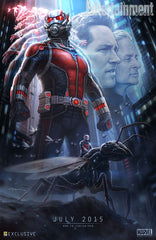 Ant Man Exclusive Poster - Marvel Studios will be sharing this weekend at Comic Con