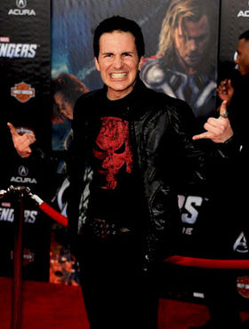 Hal Sparks on the Red Carpet Avengers 2012