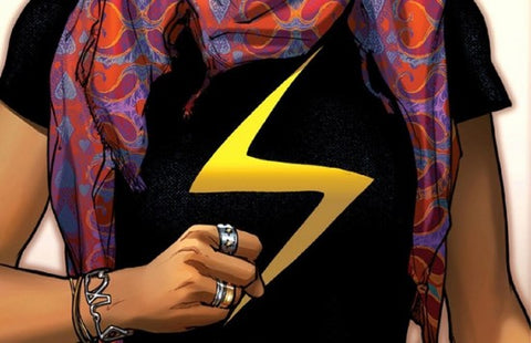 The new Ms. Marvel is a Muslim Girl from New Jersey!