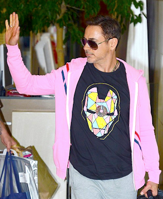 RDJ Hits Beijing Wearing One of Our T's!