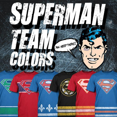 New Superman Team Colors