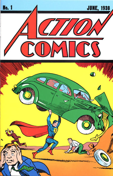Action Comics #1 sells for $3.2 million. Take that Nicolas Cage!