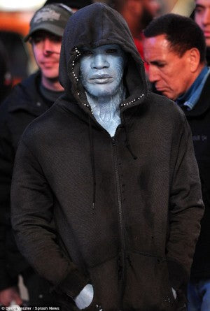 Jamie Foxx As Electro: Pics!