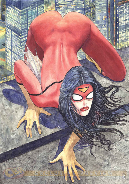 NEWS: A new Spider Woman comic cover released that creates controversies!