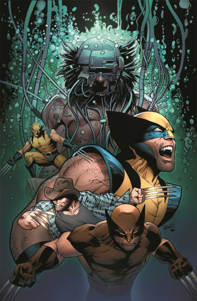 Variant Cover for Death of Wolverine released!