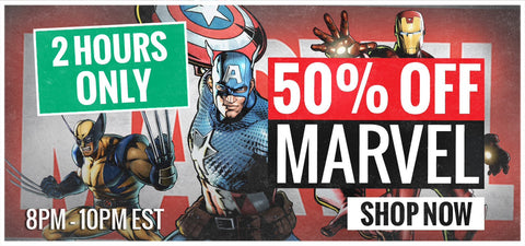 Everything Marvel 50% OFF Sale