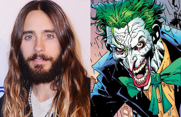 Jared Leto to play the Joker and Margot Robbie is being cast as Harley Quinn in Suicide Squad!!!