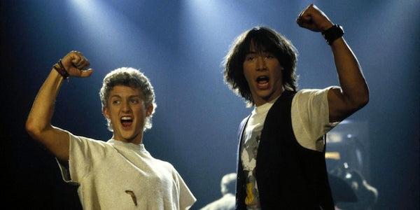 Party On Dudes!!! Bill & Ted`s Excellent Adventure PART 3 is a GO!