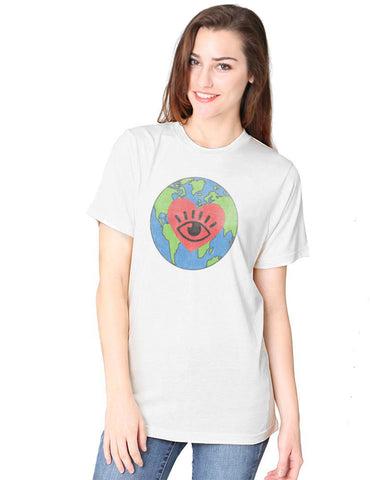 I LOVE EARTH Organic Tee