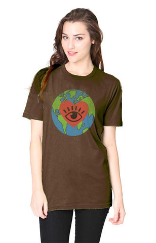I LOVE EARTH Bamboo Cotton Tee