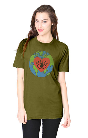 I LOVE EARTH Hemp Tee