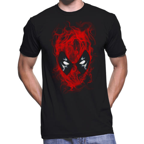 Deadpool Smoke T-Shirt