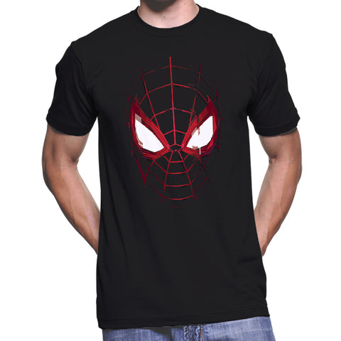 Miles Morales Spiderman Eyes T-Shirt