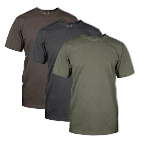 Classic Fit Neck T-Shirt 3 Pack